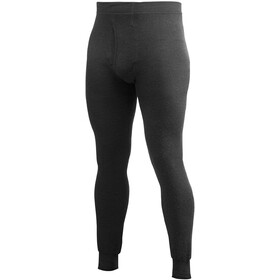 Woolpower 200 Long Johns with Fly Men, black